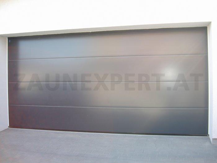 Sektionale Garagentor Komplett UniPro  3000 X 2250 Mm Farbe Anthrazit  PREMIUM