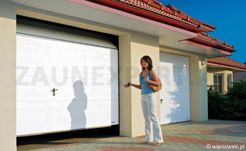 Sektionale Garagentor Komplett UniPro  3000 X 2250 Mm Farbe Woodgrain   Braun Oder Weiss, PREMIUM